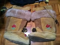 AUTHENTIC INUITE HIDE LEATHER BOOTS Guelph, N1H 6R6