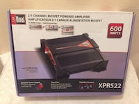 Dual XPR522 2/1 Channel MOSFET Powered Amplifier 600 Watts Longwood