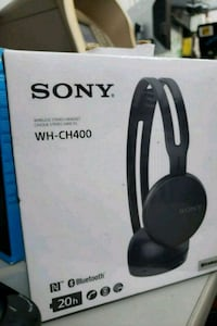 Sony WH-CH400 works stereo headset brands new.  Toronto, M9V 2X6