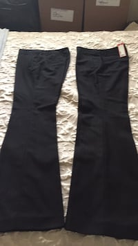 2 black pants espirit
