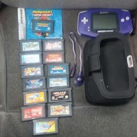Gameboy Advance with 14 games, light cable,  Ashland, 23005