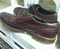 pair of brown leather dress shoes Surrey, V3R 1W7