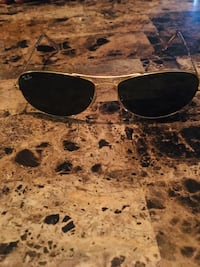 brown-framed Ray-Ban aviator sunglasses Washington, 20020