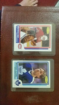 PATRICK ROY RC AND WENDEL CLARK RC MINT CONDITION  Toronto, M1K 4L9