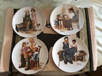 Norman Rockwell Collectible Plates  Peach Bottom, 17314