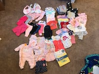 ASSORTED NB BABY GIRL CLOTHES  Puyallup, 98374