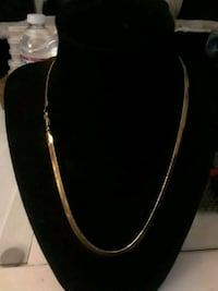Gold filled flat chain