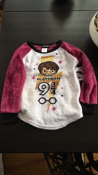 Girls Harry Potter Top and socks