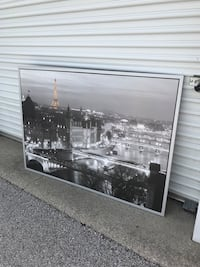 black wooden framed glass panel Grand Haven, 49417