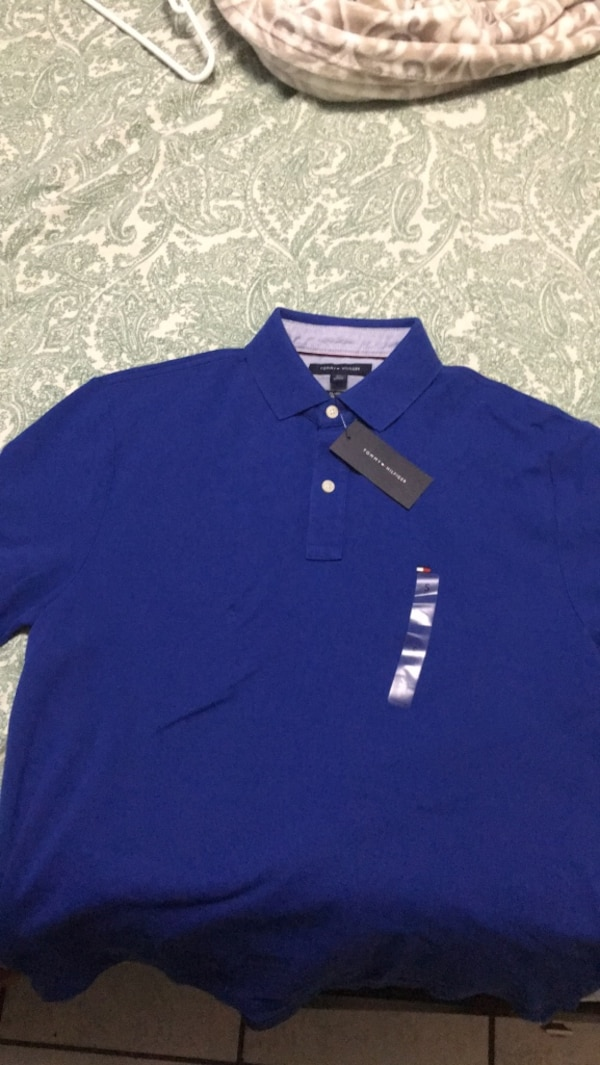 c47439c4 Used Blue Tommy Hilfiger Shirt for sale in Hialeah - letgo
