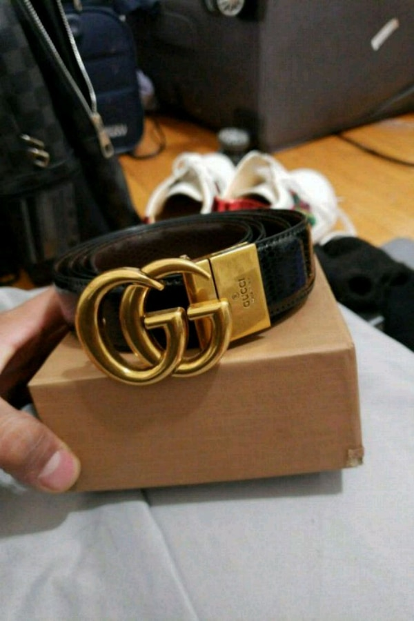 9f3a419e8 Used GUCCI leather belt for sale in Chicago - letgo