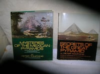 Two (2) Books on Pyramids Springfield