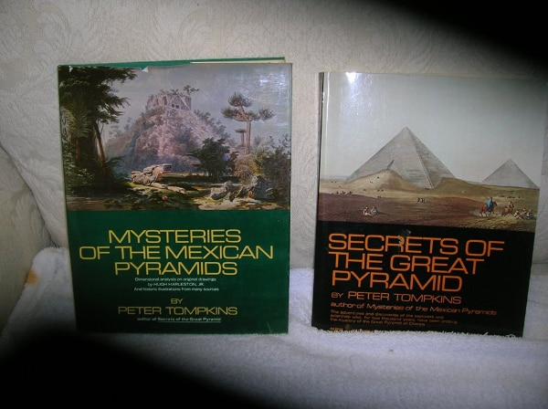 Two (2) Books on Pyramids