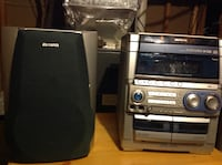 black and gray Sony stereo component Germantown, 20874