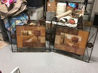 two brown wooden framed wall decors Dunedin