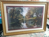Antique picture of park scenery  Mississauga, L5M 6J3