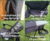 Strongback elite folding posture correct chairs Nanaimo, V9R 2Y7