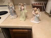 Three angel figurines $5 each Waterloo, 50702