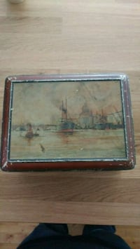 painting of sailship on body of water Shawinigan, G9T 1K7