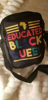 Educated black Queen cross body  Norfolk, 23513