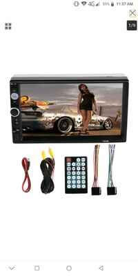 """*NEGOTIABLE* 7"""" HD DoubleDin Bluetooth TouchScreen Mississauga, L4T"""
