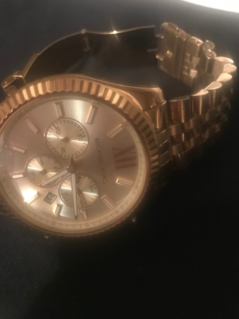 Photo Michael Kors men's gold watch