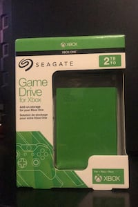 Seagate - Game Drive for Xbox 2TB External USB 3.0 Hard Drive - Green Anaheim, 92804