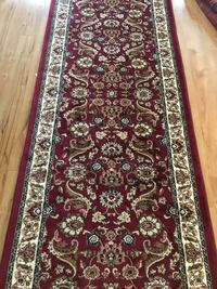 Brand new Traditional Design Hallway Runner Carpet Size 3x10 Nice Red  Arlington, 22203