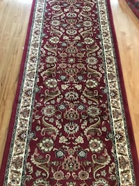 Brand new Traditional Design Hallway Runner Carpet Size 3x10 Nice Red