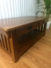 Solid wood coffee table  Arlington