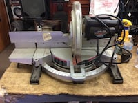 """Delta sidekick 12"""" compound miter saw used tested in a good working order .  Baltimore, 21205"""