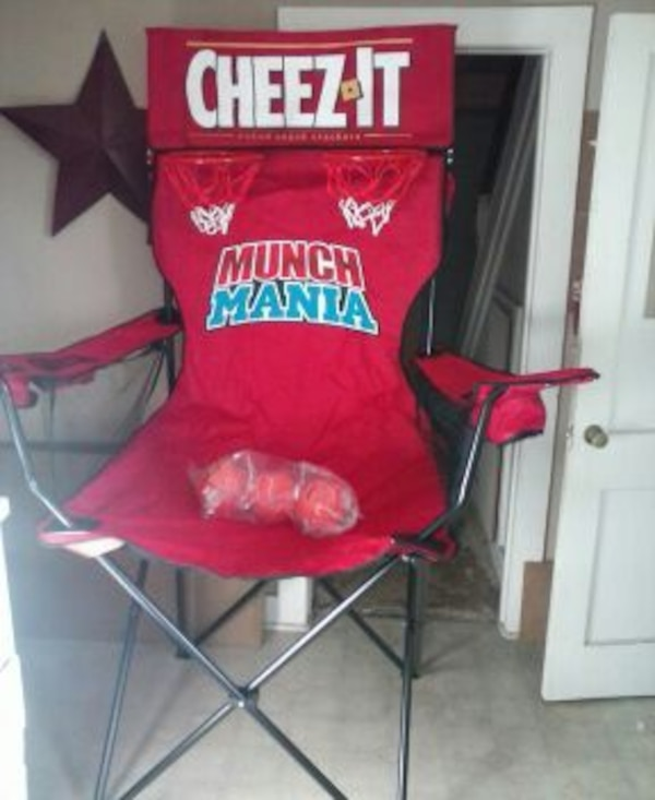 used cheez it pop shot march madness giant chair for sale in