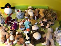 assorted plush toy lot Laval, H7T 2R9