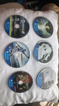 Assorted Ps4 Games San Diego, 92127