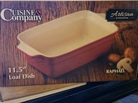 Two stoneware baking dishes Ames, 50014