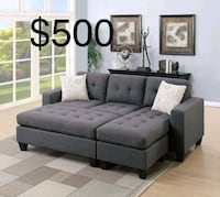 New Couch with ottoman  2278 mi