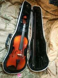 red violin with Case and Bow District Heights, 20747