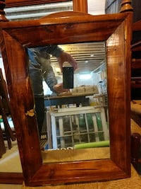 brown wooden frame glass mirror Stafford, 22554