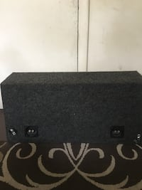 Kenwood DB+ Dual 12inch Subwoofer and Custom Enclosure Richmond, 23225