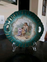 Antique Plate with stand