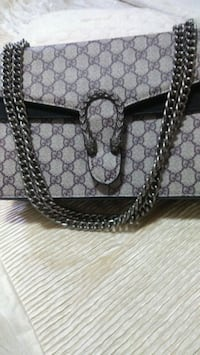 brown and black Gucci leather tote bag Mississauga, L5W 1P4