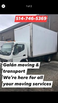 Galán moving & transport Montréal