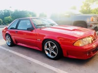 Ford - Mustang - 1990 supercharged- 2,000mile on rebuild Stafford