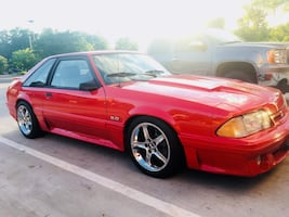 Ford - Mustang - 1990 supercharged- 2,000mile on rebuild