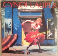 PLAK - CYNDI LAUPER / SHE'S SO UNUSUAL (LP) 1983 Osmangazi, 16200