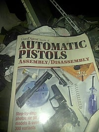 Automatic Pistols Assembly 4th Edition book