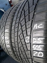 255/45-20 #2 tires  Springfield, 22153