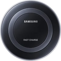 Samsung -  7.5W Fast Charge Wireless Charger - Black Mississauga