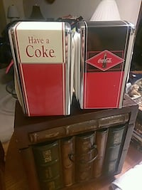 To Coca-Cola napkin holders old collectible Rosemont, 60018