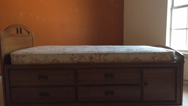 Stanley Twin Bed With Drawers